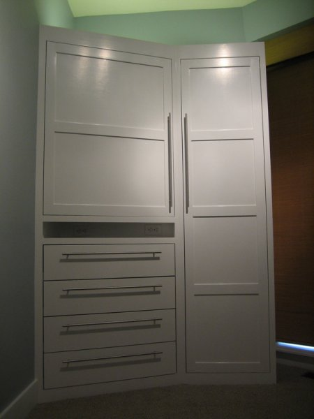 Guest room armoire, Pat\'s place.