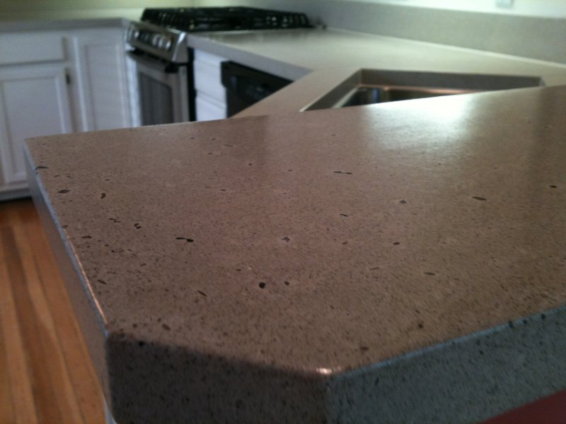 Recent concrete countertop in Crescent Hill.