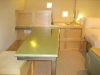 Fiber-optic countertop installed, Lynn\'s place.