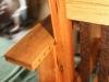 Reclaimed oak chair